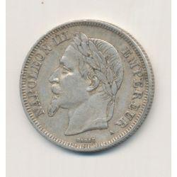 Napoléon III - Tête laurée - 2 Francs - 1869 A Paris