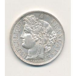 Cérès - 2 Francs - 1870 A Paris - avec légende