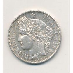 Cérès - 2 Francs - 1871 A Paris - avec légende