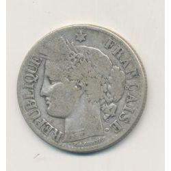 Cérès - 2 Francs - 1871 K Bordeaux - avec légende