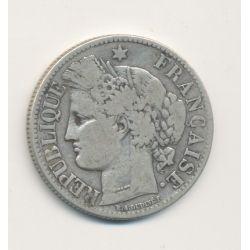 Cérès - 2 Francs - 1872 A Paris - avec légende