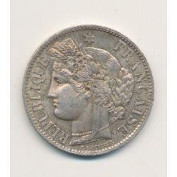 Cérès - 2 Francs - 1873 A Paris - avec légende