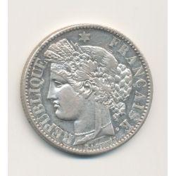Cérès - 2 Francs - 1881 A Paris - avec légende