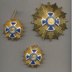 Amérique du sud - Ordre du mérite Simon Bolivar - Lot de 3 décorations