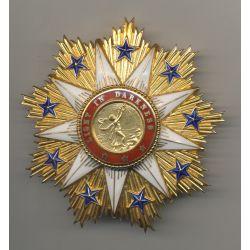 Libéria - Ordre de l'étoile Africaine - Plaque grand-croix