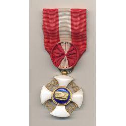 Italie - Ordre de la couronne - officier