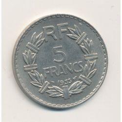 5 Francs Lavrillier - 1933