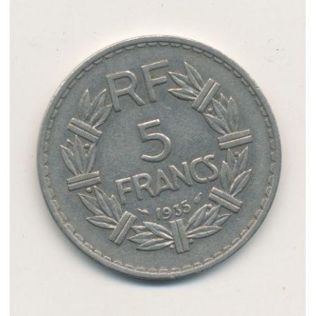 5 Francs Lavrillier - 1935