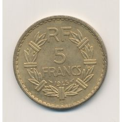 5 Francs Lavrillier - 1945 C