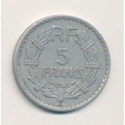 5 Francs Lavrillier - 1946 B
