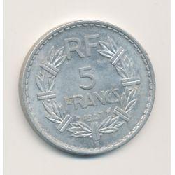 5 Francs Lavrillier - 1947 B - 9 fermé