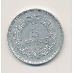 5 Francs Lavrillier - 1948 - 9 fermé