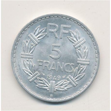5 Francs Lavrillier - 1949 B