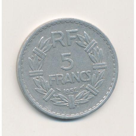 5 Francs Lavrillier - 1952