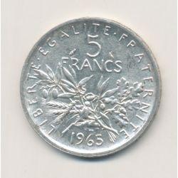 5 Francs Semeuse - 1965