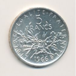 5 Francs Semeuse - 1966