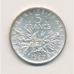 5 Francs Semeuse - 1967