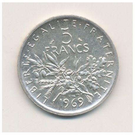 5 Francs Semeuse - 1969