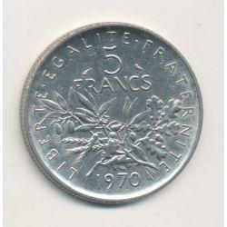 5 Francs Semeuse - 1970