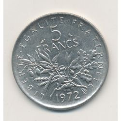5 Francs Semeuse - 1972