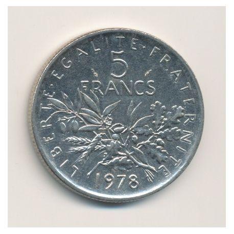 5 Francs Semeuse - 1978