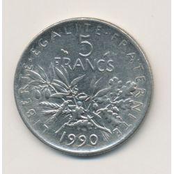 5 Francs Semeuse - 1990