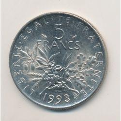 5 Francs Semeuse - 1993