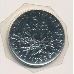 5 Francs Semeuse - 1998