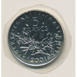 5 Francs Semeuse - 2001