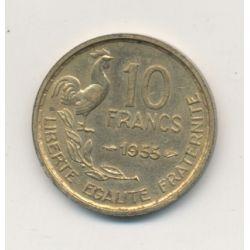 10 Francs Guiraud - 1955