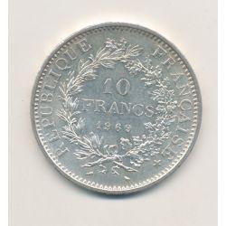 10 Francs hercule - 1969