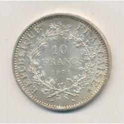 10 Francs hercule - 1971