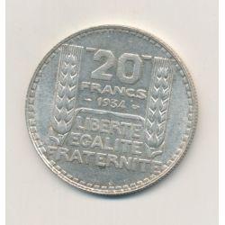 20 Francs Turin - 1934