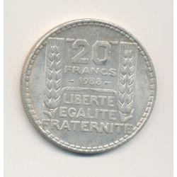 20 Francs Turin - 1938