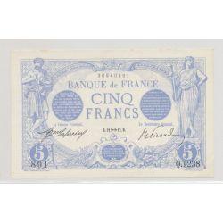 5 Francs Bleu - 12.11.1912