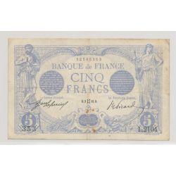 5 Francs Bleu - 3.05.1913