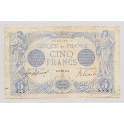 5 Francs Bleu - 19.10.1915