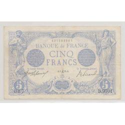 5 Francs Bleu - 2.12.1915