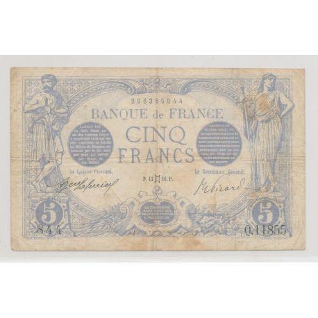 5 Francs Bleu - 13.05.1916