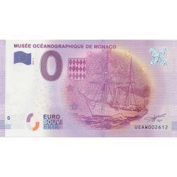 Billet Musée océanographique Monaco 2016
