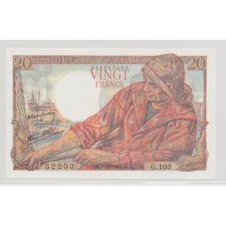 20 francs Pêcheur - 7.10.1943