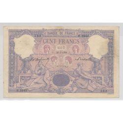 100 Francs Bleu et rose - 28.05.1900