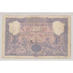 100 Francs Bleu et rose - 25.06.1906