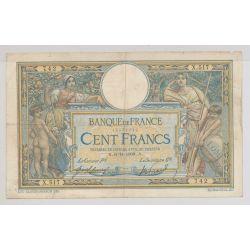 100 Francs L.O.M - 6.11.1908