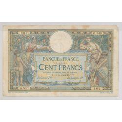 100 Francs L.O.M - 19.11.1908