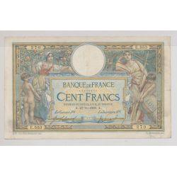 100 Francs L.O.M - 27.11.1908