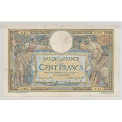 100 Francs Luc Olivier Merson - 3.06.1909
