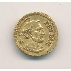 Vatican - 1/4 Sequin or 1741 - Benedicte XIV