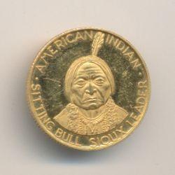 Etats-Unis - Médaille or - Sitting Bull