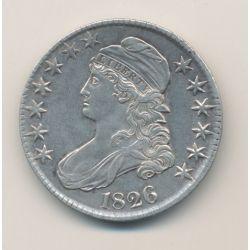 50 Etats-Unis - 50 Cents 1826
